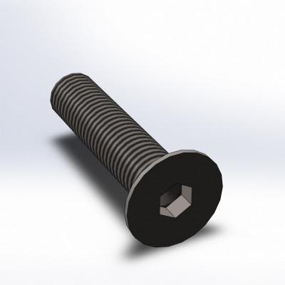 BOLT - DIN7991 - KL10.9 - M16 x 70 x 2