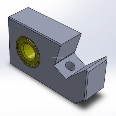 Holder fitting to Husmann, HF IV, small (35mm)
