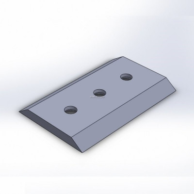 Chipper knife fitting to Bandit 184x101,6x12,7