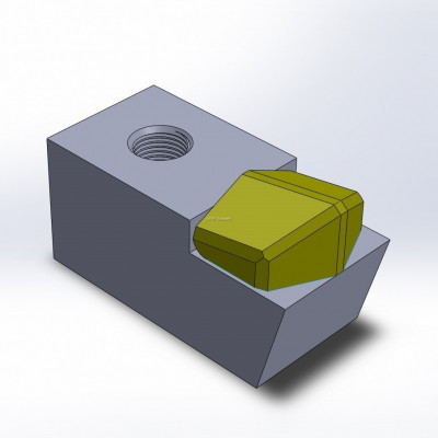 Hammer fitting to Plaisance, with 1 large carbide tip, Heavy Duty