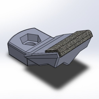 Hammer fitting to Siebert system, with 3 layers of CGP