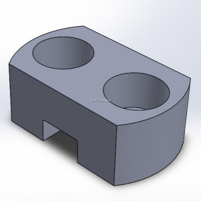 Stumpcutter ATWT stijl, holder, bored