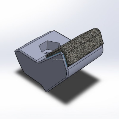 Hammer fitting to Husmann, HF V/VI/Z, with 3 layers of CGP