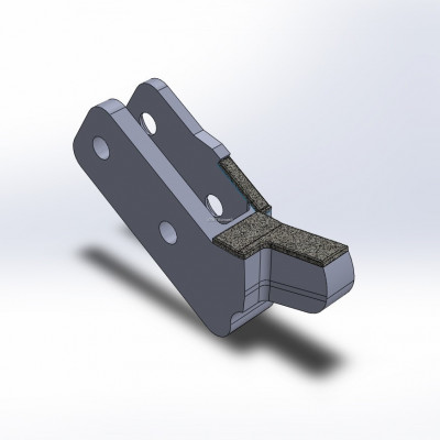 Side cutter fitting to Willibald, MZA en UZ, with 1 layer of CGP, left